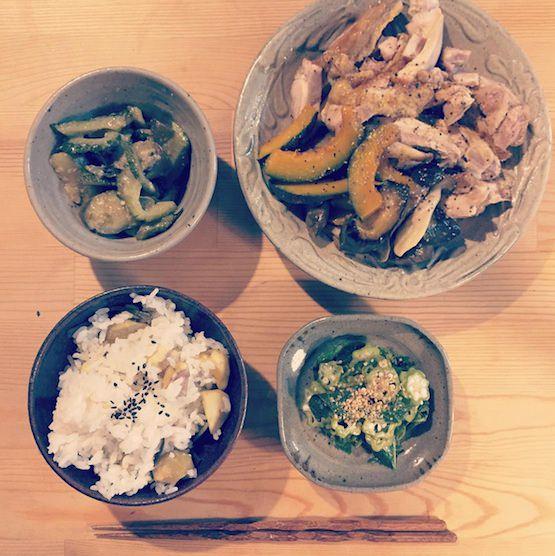 今日のご飯1
