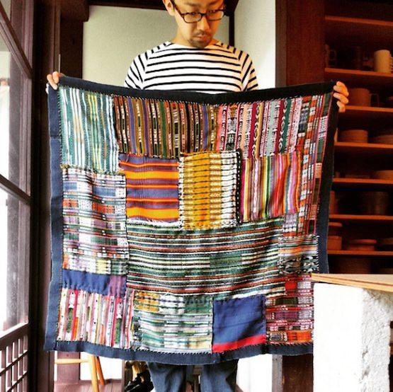 グアテマラの布 パッチワーク