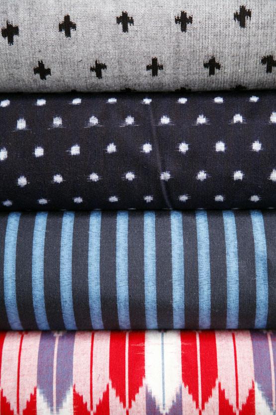 0-久留米絣-織元毎の特徴