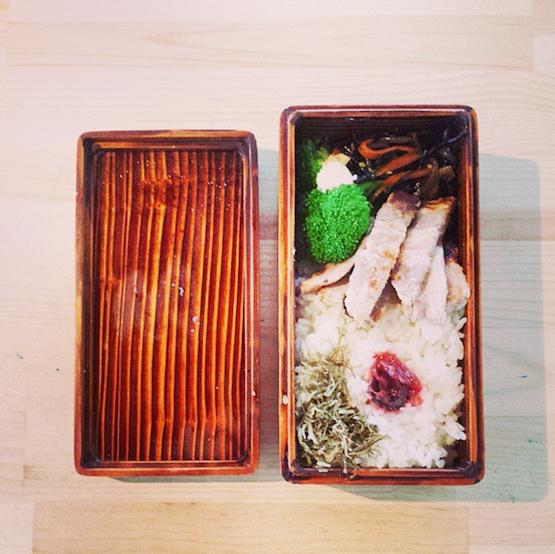 関内潔木のお弁当箱