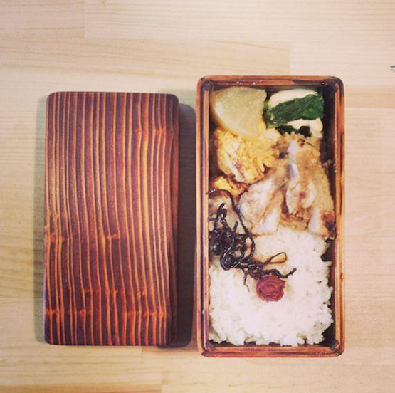 関内潔 木のお弁当箱