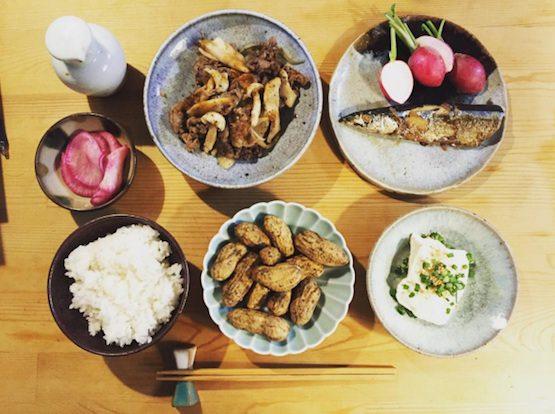 今日のご飯2