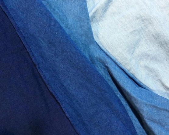 実験 藍染め