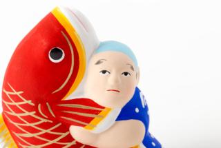 鯛抱き人形