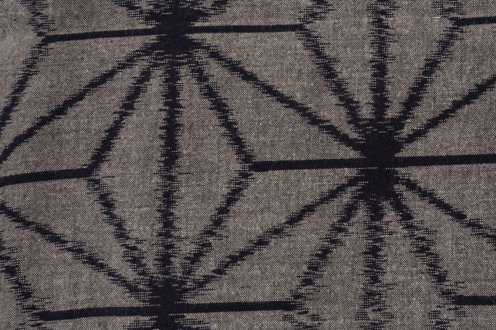 いろはもんぺ 緯絣 大麻の葉
