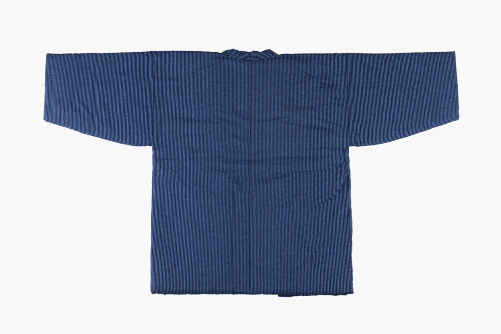 藍調袢天 小縞
