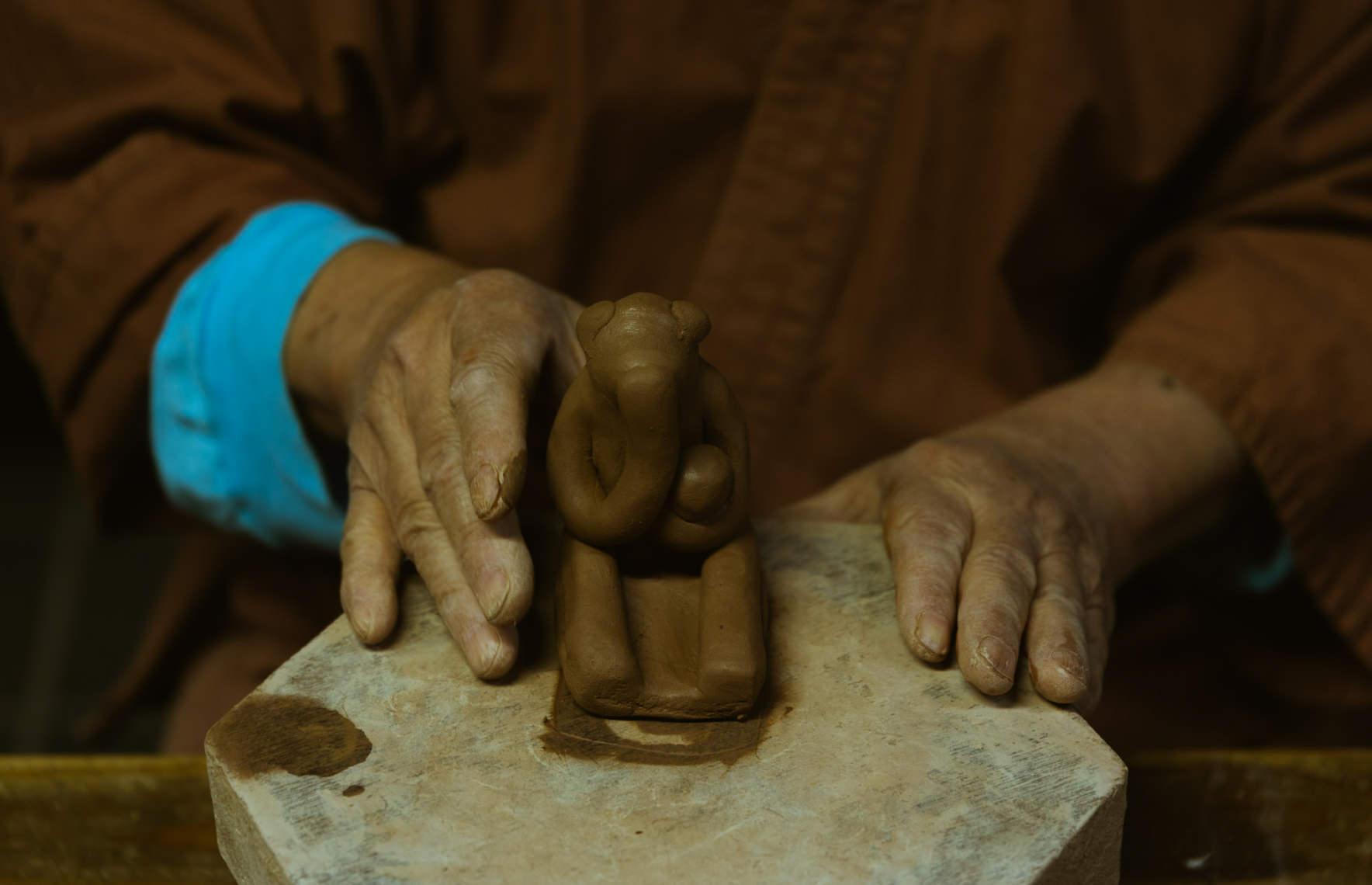 木葉猿窯元