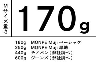 MONPE バンブーストライプ