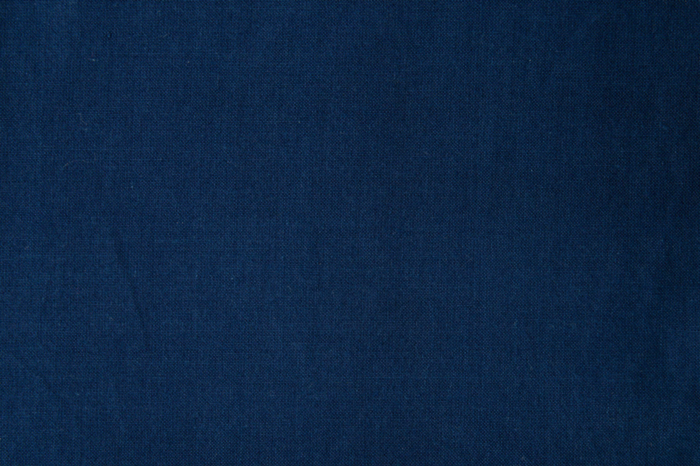 MONPE 正藍 藍染手織り 無地