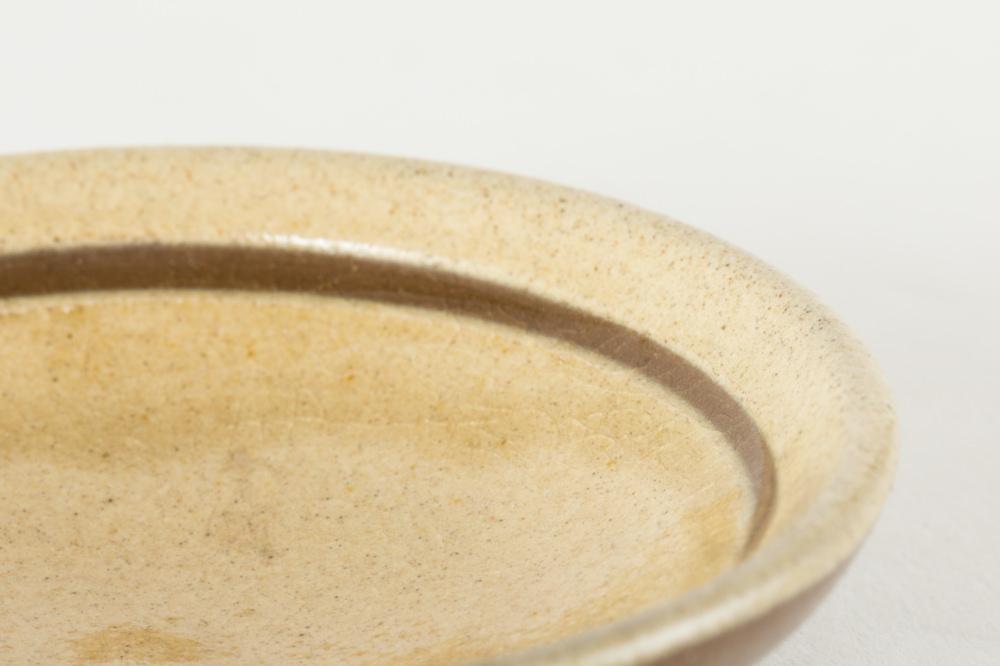 豆皿 白 丸