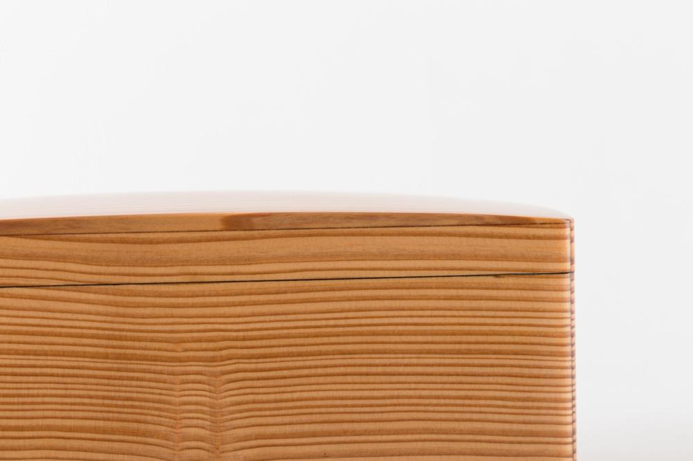 木のお弁当箱 クリア 小
