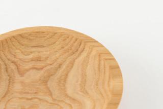 リム丸皿 クリ 180