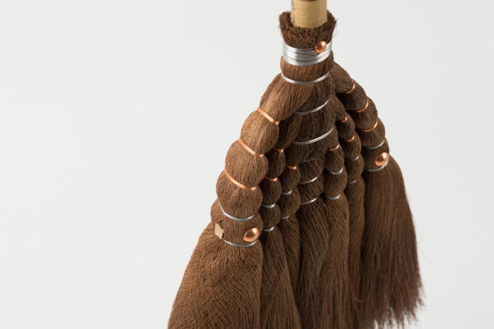 棕櫚の箒 長柄