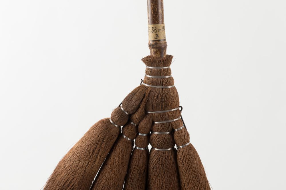 棕櫚の箒 半柄