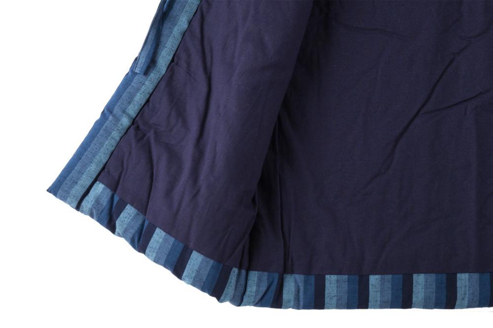 藍調袢天 カツオ縞