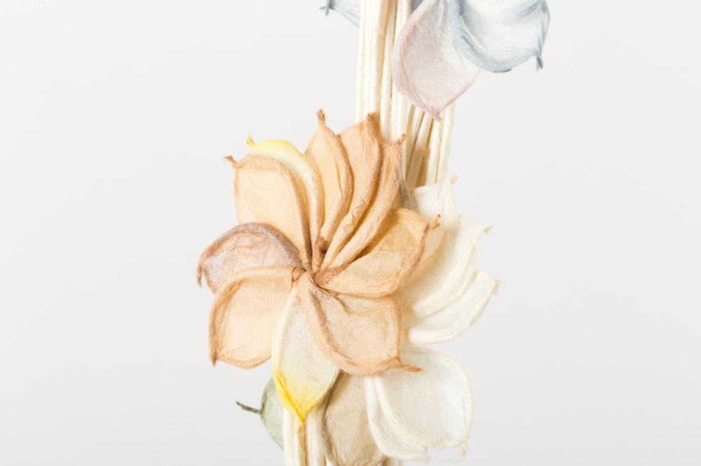線香花火 花々 40本+和蝋燭+ロウソク立て