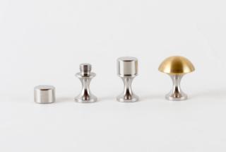 カフリンクス-レギュラー 1H+1 真鍮