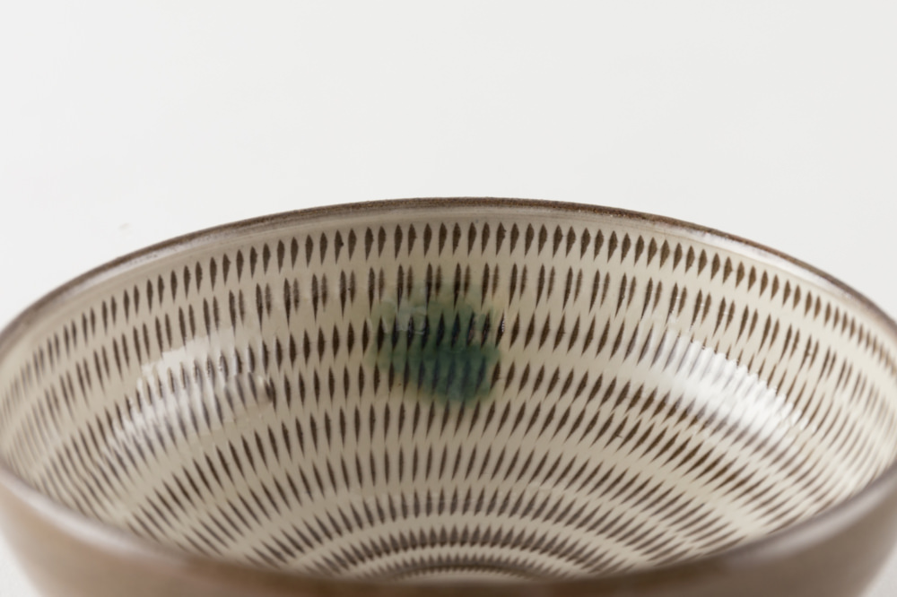 4寸小鉢 飛び鉋 打掛
