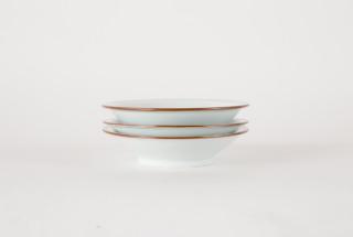 白磁館賞六寸鉢