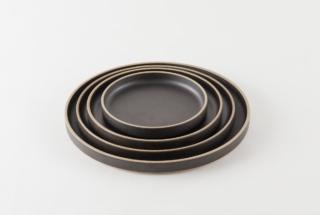 Hasami porcelain Plate Lid 85