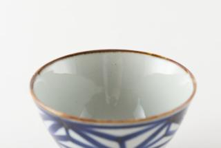 いろは茶碗 麻の葉文