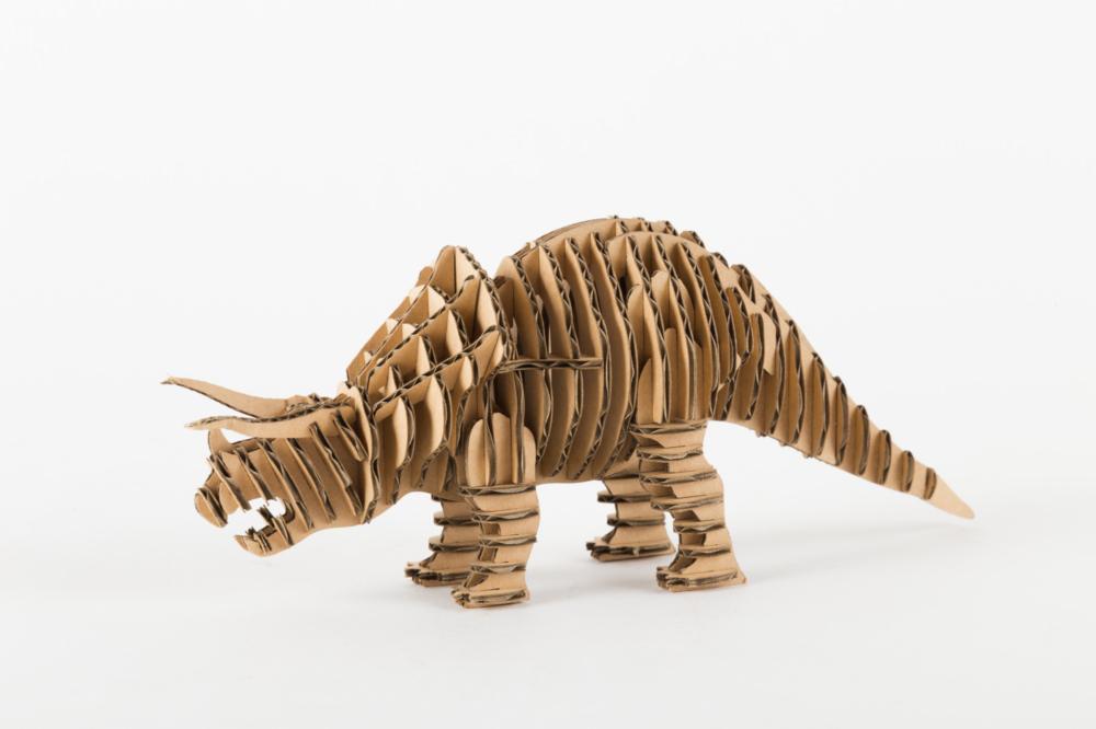 竜段 トリケラトプス