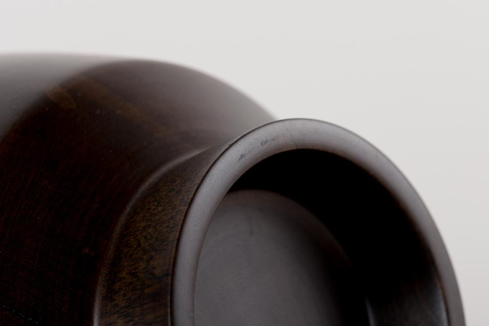 飯椀 黒漆拭き漆