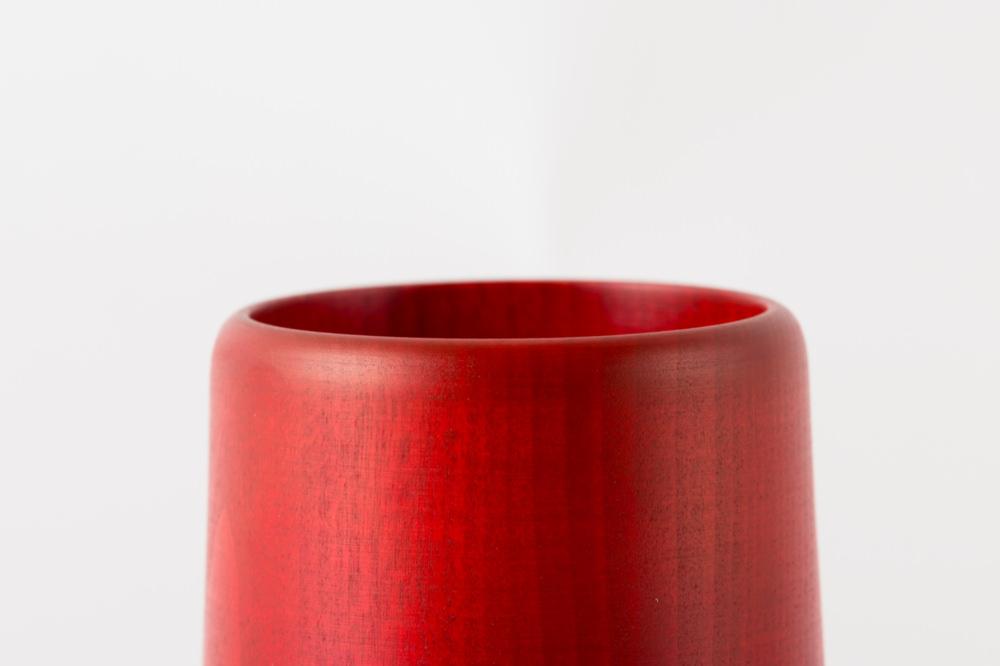 NODATE mug 紅緋