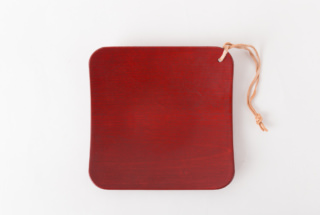 NODATE plate R30 紅緋