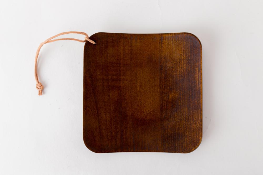 NODATE plate R30 透き漆