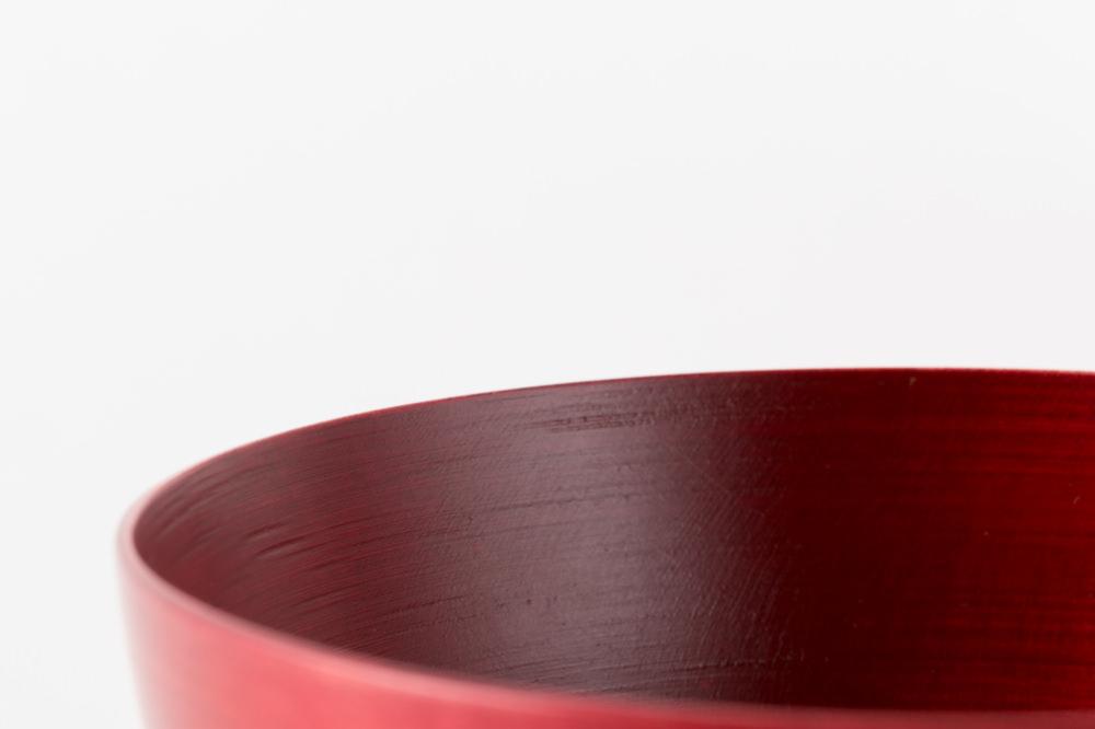 NODATE bowl 120 紅緋