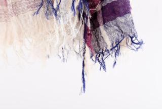BIG cotton100% basic shawl 4