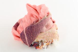 BIG cotton100% basic shawl 5