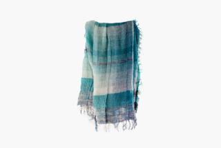 BIG cotton100% basic shawl 10