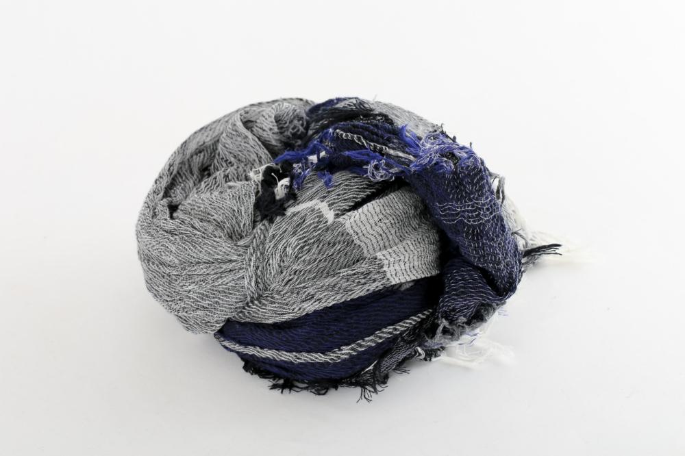 BIG cotton100% basic shawl 12