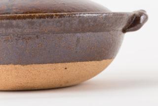 天目釉 8寸鍋