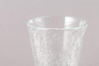 内ひびテーパーグラス