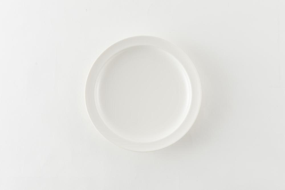 浅リム皿 中