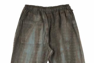 MONPE 原絹織物 藍 泥(泥強め)