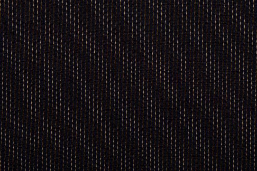 久留米絣のためのハンカチ 縞絣 片羽縞
