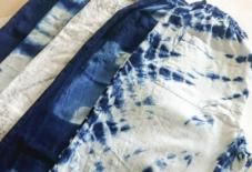 【商品紹介】宝島染工×うなぎの寝床コラボもんぺ(藍・墨染めもんぺ)