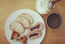 【今日のごはん】シェ・サガラのパン