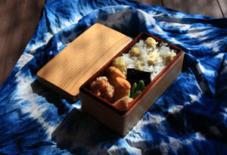 今日のお弁当 / 栗ご飯