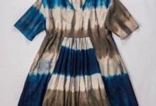 【5社合同商談・販売会】天然染料にしか出せない色。染め見本のような美しい洋服たちが勢ぞろい。④宝島染工/ シャツ・ワンピースなど