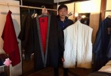 【商品紹介】糸から布へ、布から綿入れはんてんへ。宮田織物がつなぐ技術のバトン。@5社合同商談・販売会