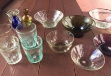 【商品紹介】琉球と小石原で作られるガラスの器