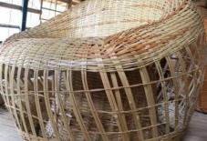 【商品紹介】てんごやの竹編みの椅子