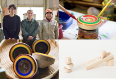 【企画展】老舗独楽屋が作る伝統のこまと、木のおもちゃ作り