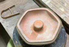 【商品案内】六角皿の作り方 の ほんの一部