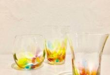 【企画展 / 商品紹介】虹色グラス